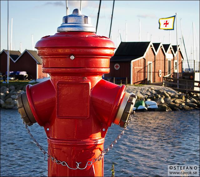 Röd brandpost