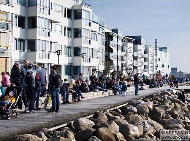 Sol i Västra Hamnen, Malmö