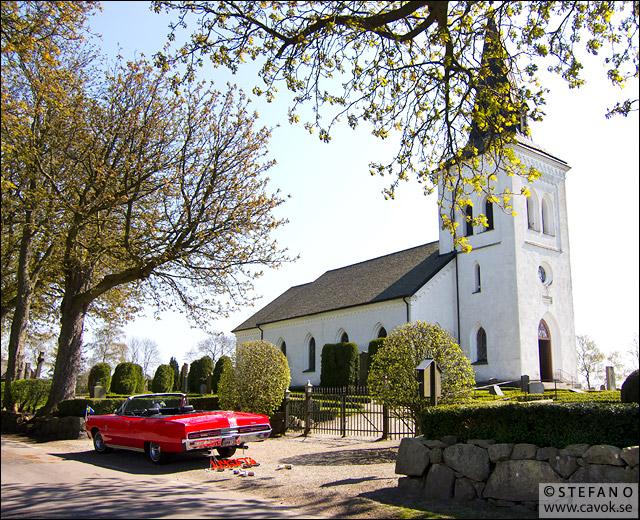 Bröllop i Lyngby kyrka