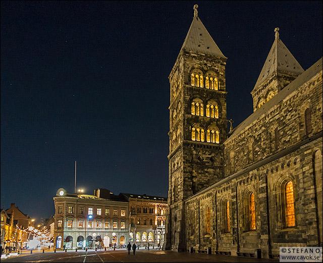 Domkyrkan - stjärnklar himmel