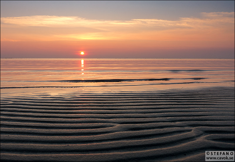 Solnedgång Habo Ljung