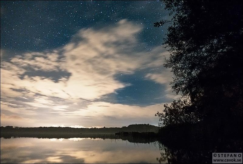 Kvällshimmel Snogeholm