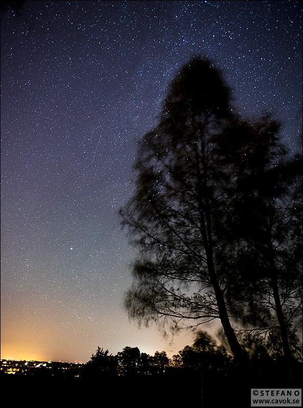 Stjärnhimmel Skrylle