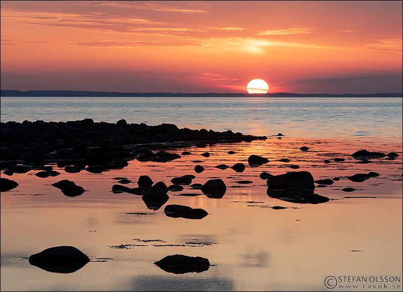 Solnedgång Barsebäckstrand