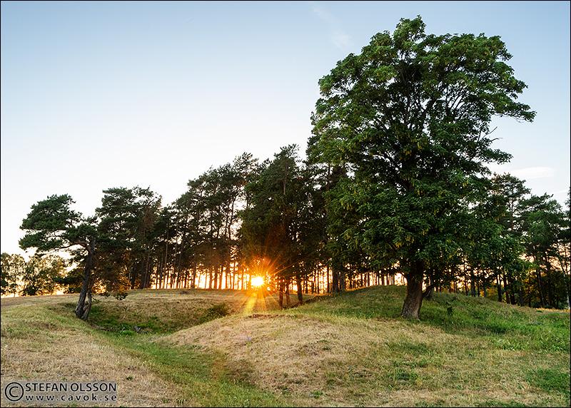 Klingvalla solnedgång