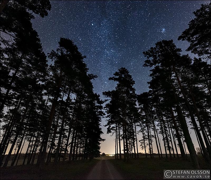 Stjärnhimmel vid Klingvalla