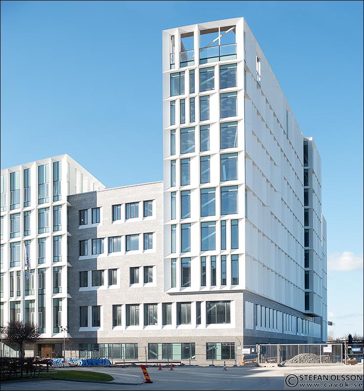 Stockholmsledet 11 AXIS nya huvudkontor i Lund