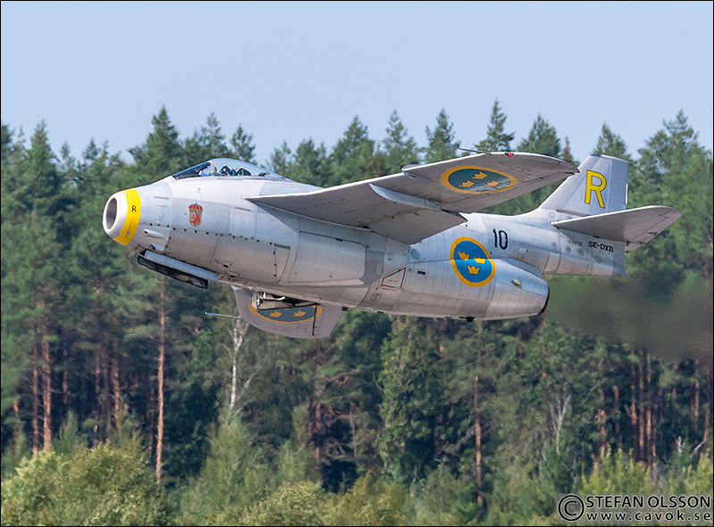 Gul Rudolf - SAAB J 29 Tunnan