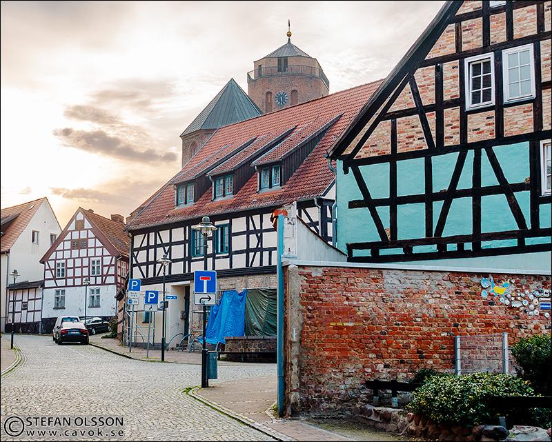 Burgstrasse i Wolgast
