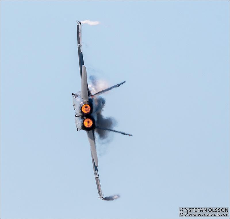 F/A-18 Hornet afterburner
