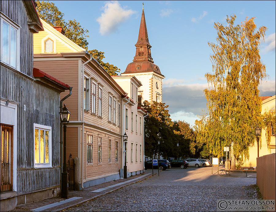 Kyrkogatan i Hjo