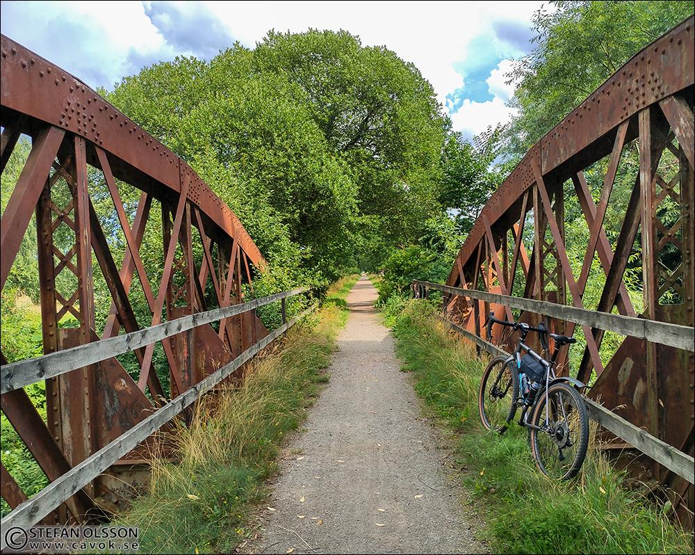 Järnvägsbron vid Revingehed