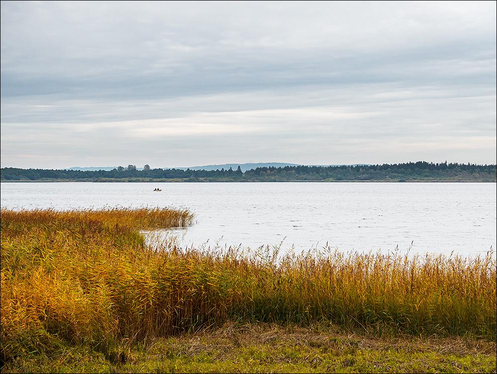 Krankesjön i början av oktober